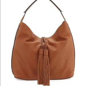 NWT Rebecca Minkoff Almond Isobel Leather Hobo Bag
